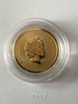 1/10oz Gold 2020 $10 Cook Island. 9999 Gold