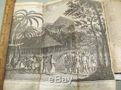 1789 Captain Cook Hawaii Tahiti Australia Maps Pacific Ocean Hawkesworths Voyage