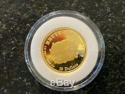 1998 24k Gold Betty Boop Set Cook Islands! 5 Coin Set Very Rare