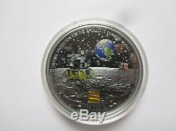 20$ Cook Islands 2019, Moon LANDING Apollo 11 50th Anniversary 3 Oz