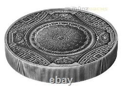 $20 Dollar 4 Layer High Relief St. Peter Basilica Cook Islands 100 g Silver 2016