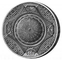 20 Dollar Cook Islands 2016 Temple of Heaven St. Peters Basilica 100g silver