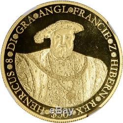 2006 Cook Islands Gold 1 oz Proof $50 Henry VIII NGC PF67 UCAM ONLY 250 Minted