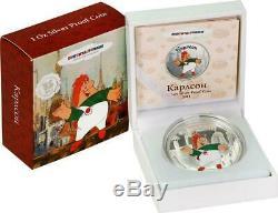 2011 Cook Islands $5 Soyuzmultfilm 3 x1Oz Silver Proof Coin Set Malish &Karlson