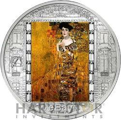 2012 Masterpieces Of Art Adele Bloch-bauer Gustav Klimt 3 Oz. Silver Coin