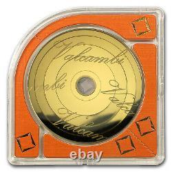 2015 1 oz Cook Islands $100 Gold Armillary Coin Valcambi SKU #92288