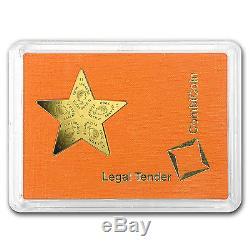 2015 5x 1 gram Cook Islands $25 Gold Star CombiCoin Valcambi SKU #94103