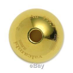2015 5x 2 gram Cook Islands $10 Gold Sphere Coin Valcambi SKU #94101