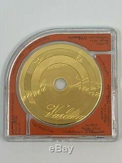 2015 COOK ISLANDS 1 OZ COMPACT DISK VALCAMBI Au. 999 GOLD COIN