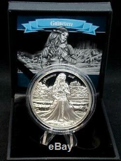 2016 $10 Cook Islands GUINEVERE Camelot 2 Oz Silver Proof Coin ECC&C, Inc