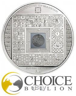 2016 $10 Milestones Of Mankind 50g Proof Cook Islands Silver Coin