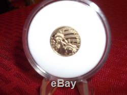 2016 $5 LIBERTY 1/10 OZ. 24 PURE GOLD COIN COOK ISLANDS