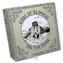 2016 Cook Islands 1 kilo Gods of Olympus (Antique Finish) SKU #95055