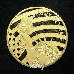 2016 Cook Islands $25 1/2oz. 240 Fine Gold Coin (mishandled) (slx3475)