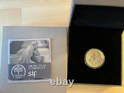 2016 Cook Islands Norse Gods Sif 2 Oz Silver Coin with Antiqued Finish