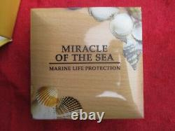 2016, Miracle Of The Sea, Pcgs, Pr-70 Dcam, 1 Oz. Silver, 2500 Minted, Rare