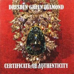 2017 $10 Cook Islands Dresden Green Diamond 2oz 999 Silver Coin PCGS PR69DCAM FD