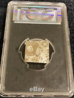 2017 $5 Cook Island Time Capsule. 999 Silver coin, PCGS PR 70