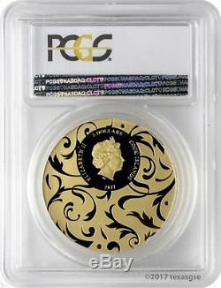 2017 $5 Cook Islands Scarab Selection 2 3-Coin Silver Proof Set PCGS PR69DCAM FD
