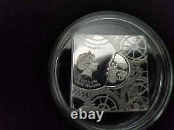 2017 Cook Island Silver Proof Time Capsule