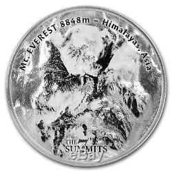 2017 Cook Islands 5 oz Silver 7 Summits (Mt. Everest) SKU#155034