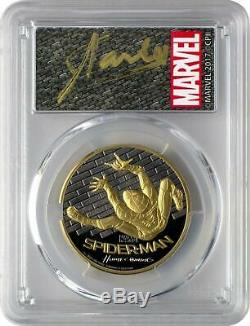 2017 Cook Islands Gold $200 Spider-Man Homecoming PR70 DCAM FDOI PCGS Coin
