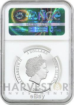 2017 Fantastic Beasts Magical Congress Silver Coin Ngc Pf70 First Releases