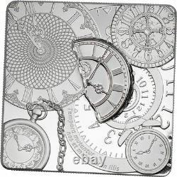 2017 TIME CAPSULE COIN 1 oz. 999 PROOF Silver Coin Cook Islands $5 1,500 Made