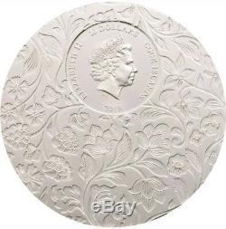2018 2 Oz Silver $10 LITTLE SECRETS Coin