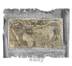 2018 CI Historical Maps -Universalis Cosmographia Foil Note 30 g Silver SKU51835