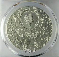2018 Cook Islands $10 LITTLE SECRETS 2oz Pure. 999 Silver Coin PCGS MS70 FDI