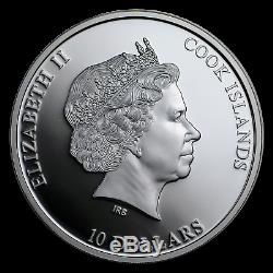 2018 Cook Islands 2 oz Silver AC/DC Black Ice Proof (No COA) SKU#192814