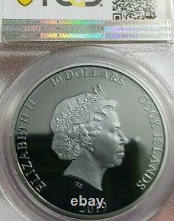 2019 2 Oz Silver $10 Cook Island ANCHOR Fair Winds PF70DCAM FDOI Coin