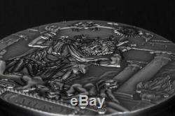2019 3 Oz Silver $20 Cook Islands ATLAS Titans Coin