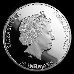 2019 Cook Islands 3 oz Silver Masterpieces Young Girl Bathing SKU#198458
