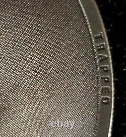 2019 Cook Islands Trapped $5 silver coin withbox & COA