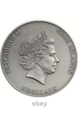 2020 2nd COIN Cook Islands STILL TRAPPED Silver Coin 1 oz With BOX COA