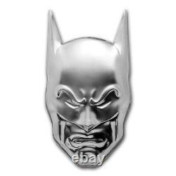 2020 $5 Niue BATMAN COWL MASK 2oz 999 Silver Coin with Box and COA