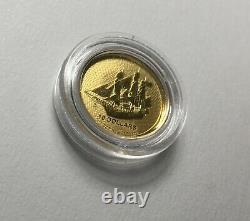 2020 Cook Island Bounty 1/10 Oz 9999 Gold Coin BU