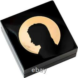 2020 Cook Islands 3 Ounce Madonna of Bruges High Relief Gilded Silver Coin