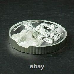 2020 Viñales Vinales Meteorite Impact Silver $5 Coin UHF High Relief Cook Island