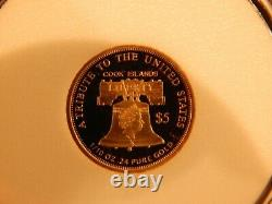 2021 $5.00 Double Eagle Coin COA MINT NEW