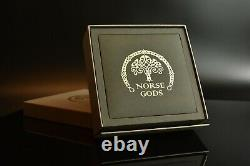 2021 Cook Islands $1 Odin The Norse Gods 2 oz Antique finish Silver Coin in Box