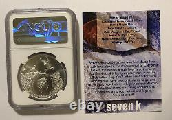 2021 Cook Islands California-Grizzly Bear 1oz Silver NGC MS70 7K Label
