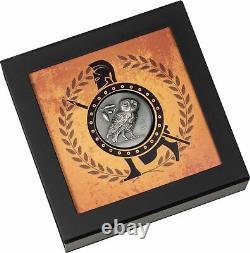 2021 Owl of Athena 1 oz Silver Antique Coin Cook Islands $5 Athena's Owl JL565