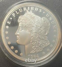 3 Troy Oz. 999 Silver Bullion, Cook Islands, $20 Dollar,'64 Morgan Dollar Coin