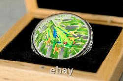 5$ 2018 Cook Islands Magnificent Life Laubfrosch-Tree Frog