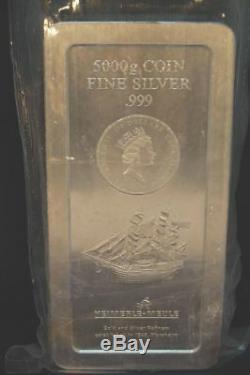 5 Kg Münze/Silberbarren Heimerle + Meule 999, 150 Dollar Cook Islands, 2008