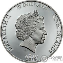 ANCHOR Fair Winds 2 Oz Silver Coin 10$ Cook Islands 2019