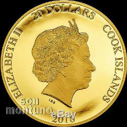 BLOWOUT SALE BREXIT COIN 1/10 OZ 24K GOLD PROOF -JUNE 23 2016 Cook Islands $20